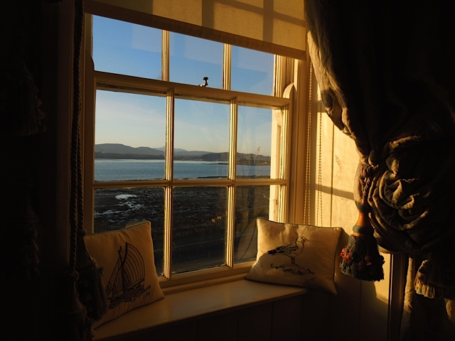 Early morning view, top floor suite ( Ty Anne)
